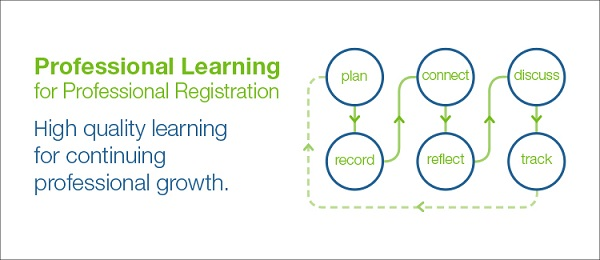 Professional Learning summary graphic